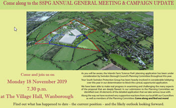 AGM and Update on Planning Application