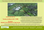 AGM and Update on Planning Appeal